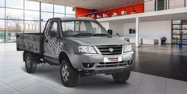 Tata Yodha Pickup Truck Black