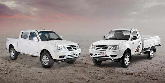 Tata Xenon and Yodha Front view