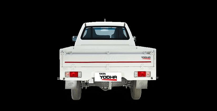 Tata Yodha sc 4x4 flat rear