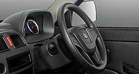 Tiltable & collapsable power Steering