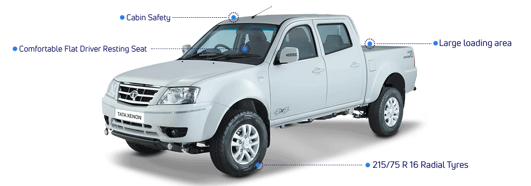 Tata Xenon Crew Cabin Features
