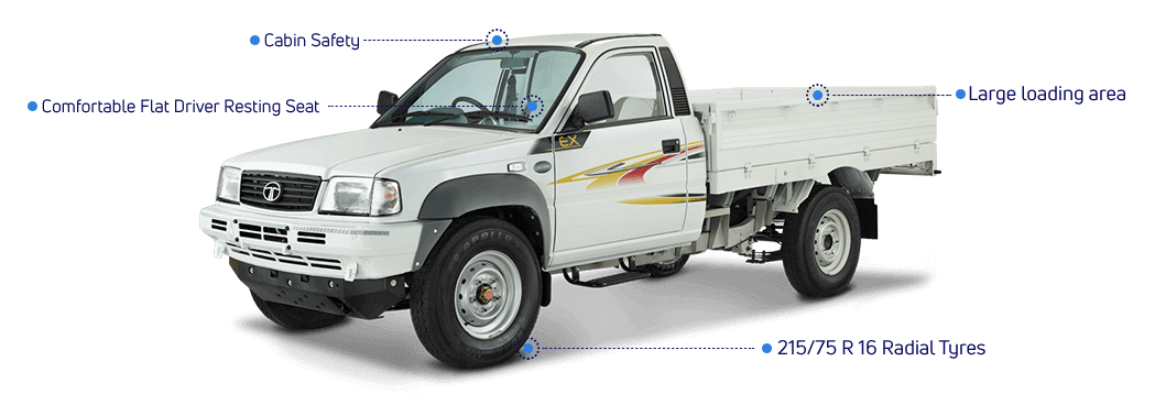 Tata Xenon Ex Features