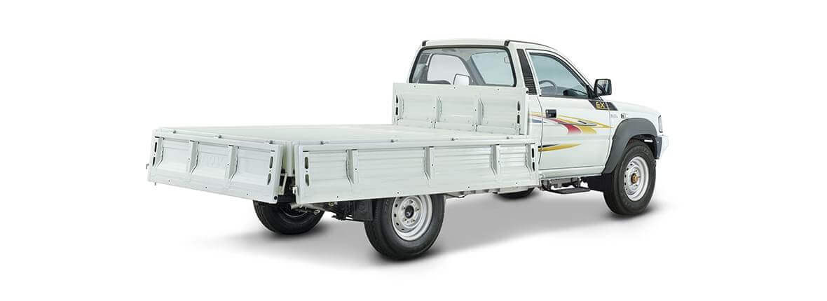 Tata 207 ex flat load body view