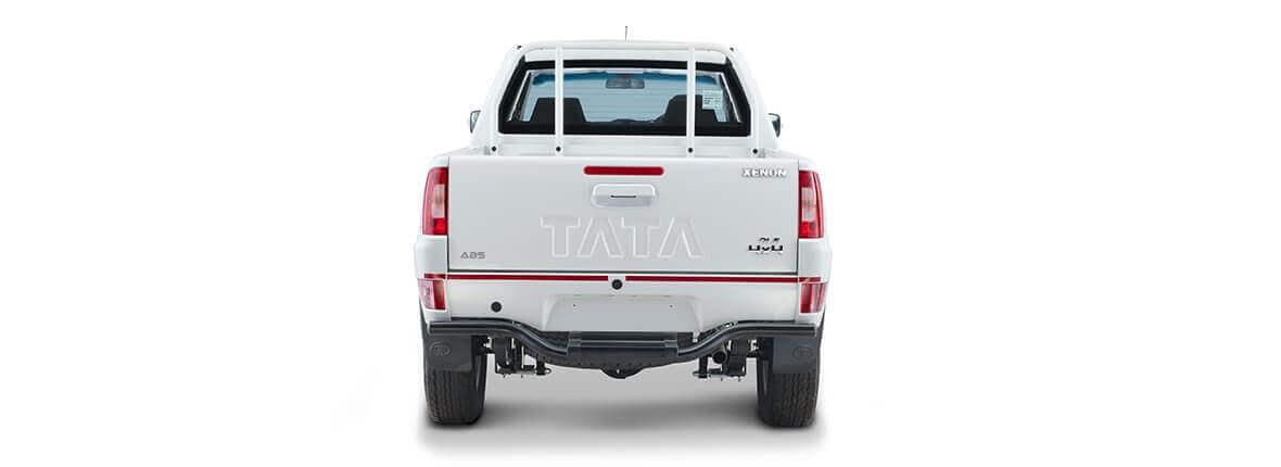 Tata Xenon crew cabin 2.2 flat rear