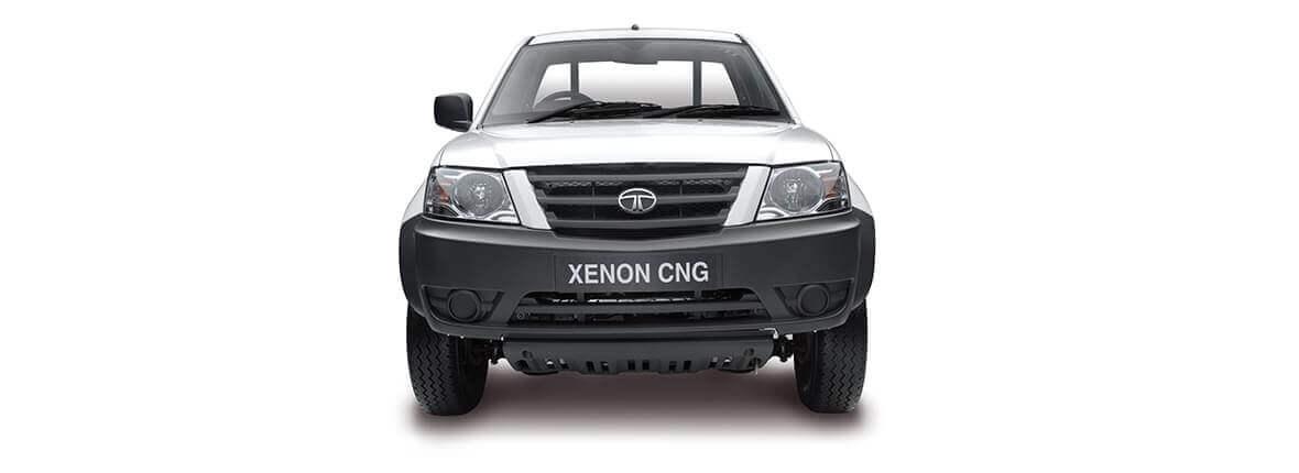 Tata Xenon utility crew cabin front view white