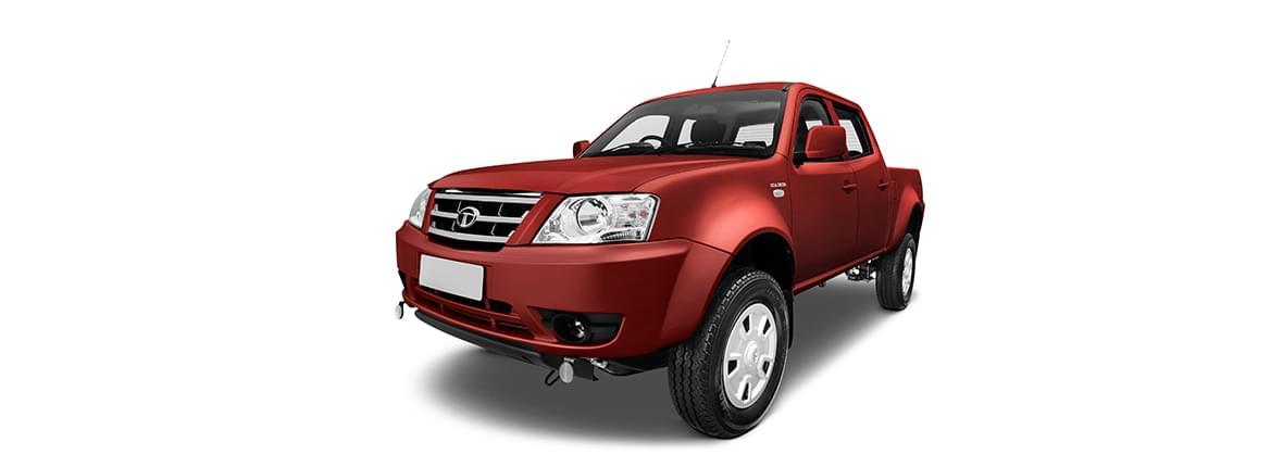 Tata Xenon utility crew cabin lh side red