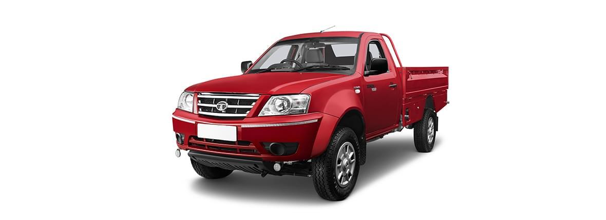 Tata Xenon utility crew cabin red lh side