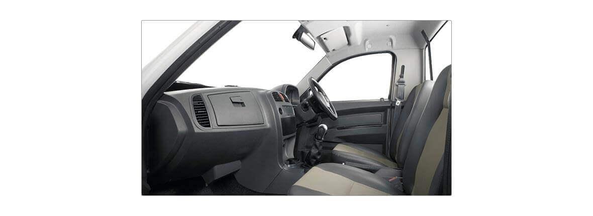 Tata Xenon crew cabin 2.2 cng interior