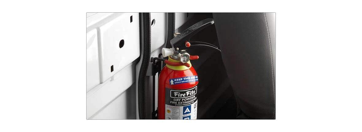 Tata Xenon crew cabin 2.2 fire extinguisher