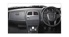 Tata Xenon utility crew cabin interior dashboard