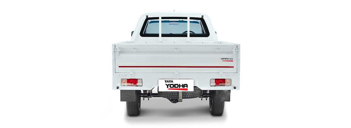 Tata Yodha dc flat rear