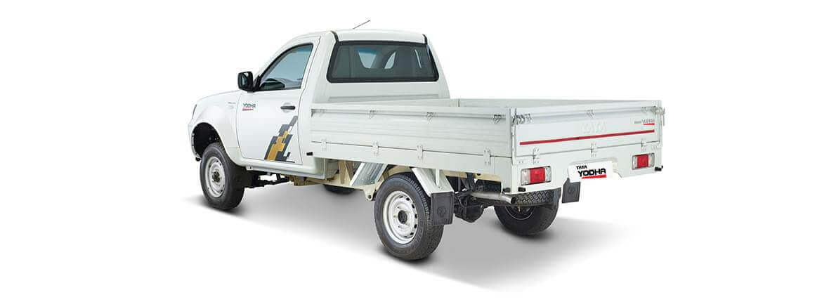Tata Yodha sc 4x4 rear lh side