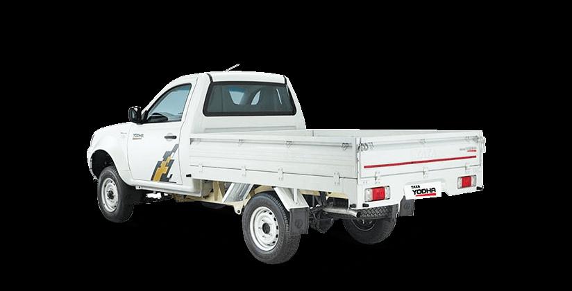 Tata Yodha sc 4x4 rear lh side