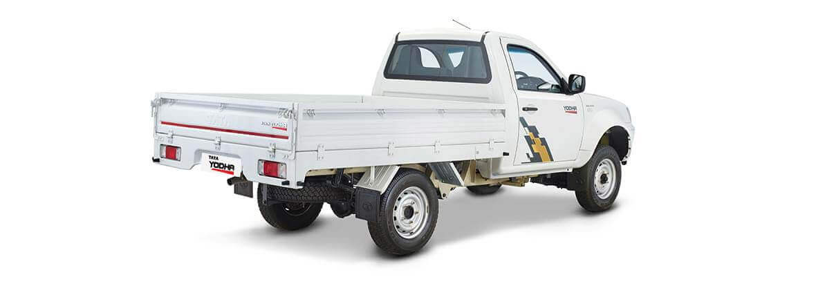 Tata Yodha sc 4x4 rear rh side