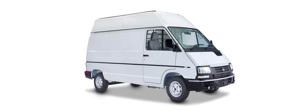 Tata Winger flat side white